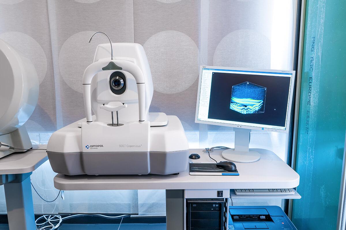 Tomograf optyczny SOCT Copernicus PLUS