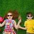 Przeciwsłoneczne okulary dla dzieci.