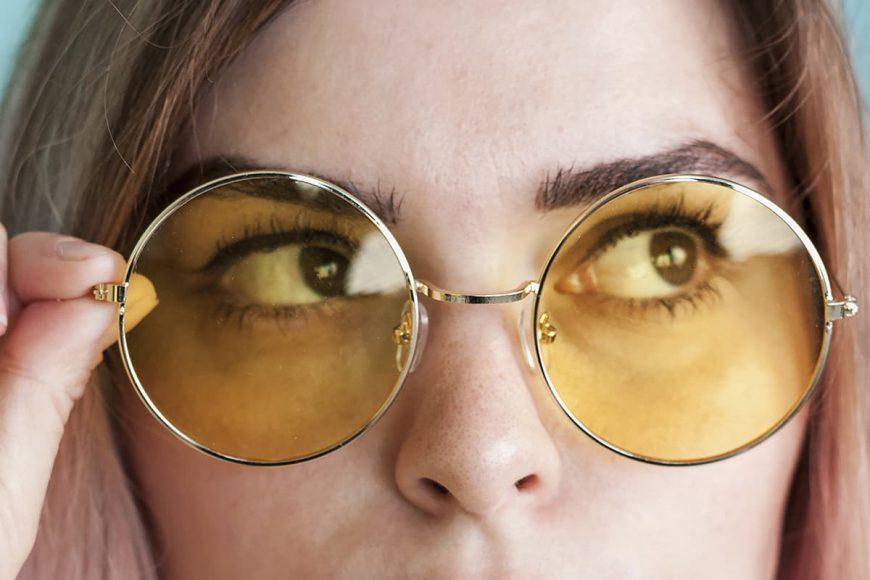 dbanie o wzrok