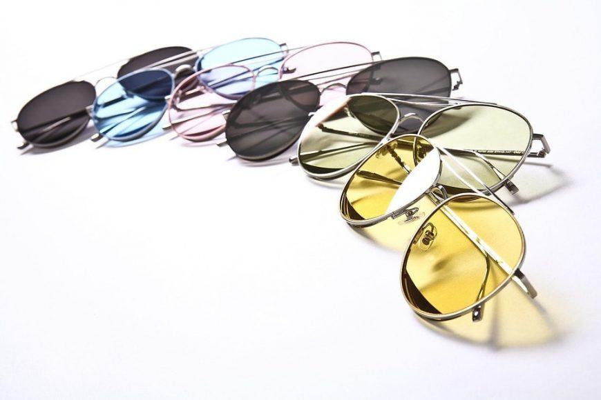 Żółte soczewki w okularach